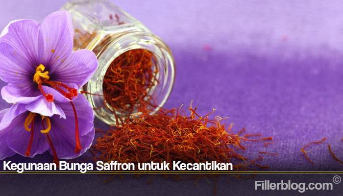 Kegunaan Bunga Saffron untuk Kecantikan