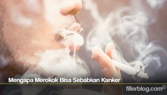Mengapa Merokok Bisa Sebabkan Kanker
