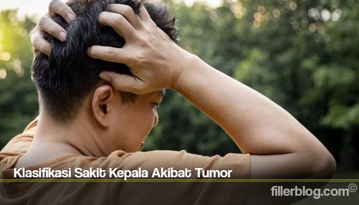 Klasifikasi Sakit Kepala Akibat Tumor